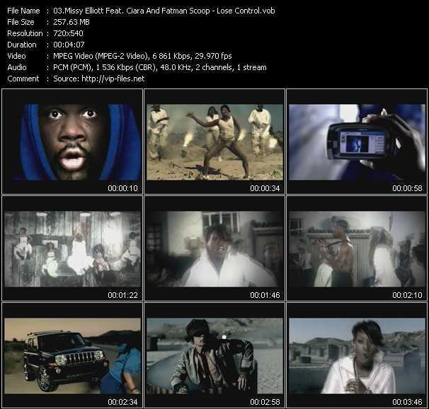 Missy Elliott Feat. Ciara And Fatman Scoop - Lose Control