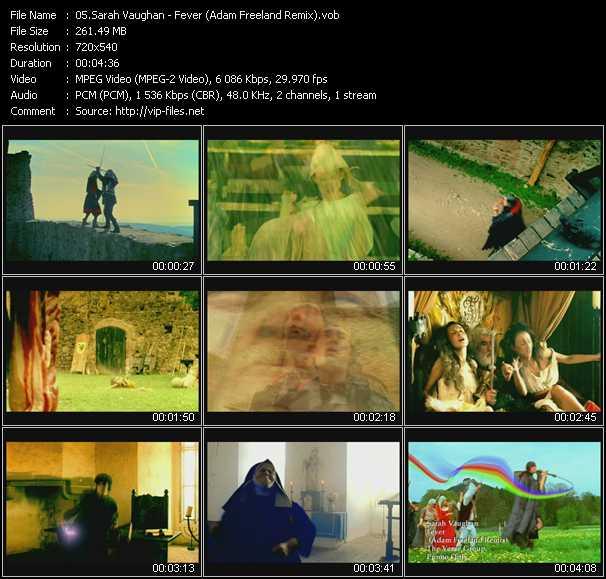 Sarah Vaughan - Fever (Adam Freeland Remix)