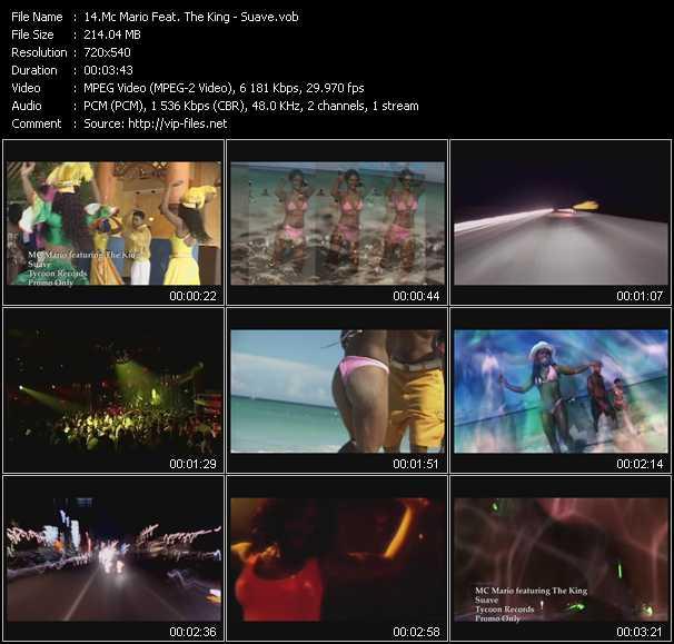 Mc Mario Feat. The King - Suave