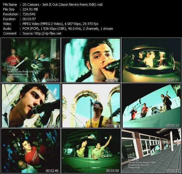 Caesars - Jerk It Out (Jason Nevins Remix Edit)