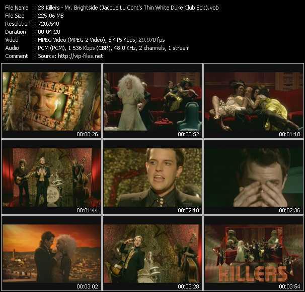 Killers - Mr. Brightside (Jacque Lu Cont's Thin White Duke Club Edit)