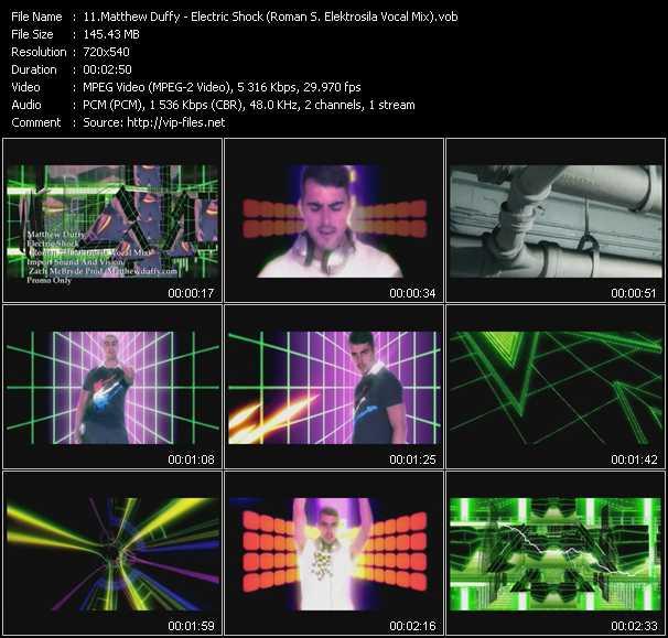 Matthew Duffy - Electric Shock (Roman S. Elektrosila Vocal Mix)