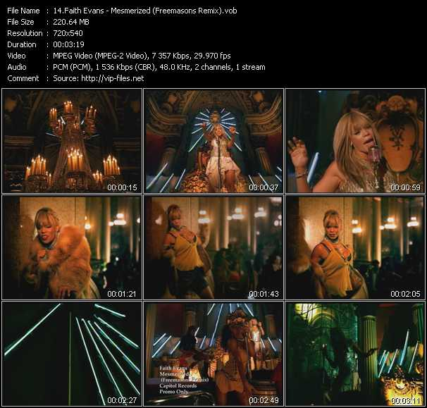 Faith Evans - Mesmerized (Freemasons Remix)