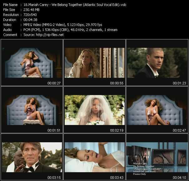 Mariah Carey - We Belong Together (Atlantic Soul Vocal Edit)