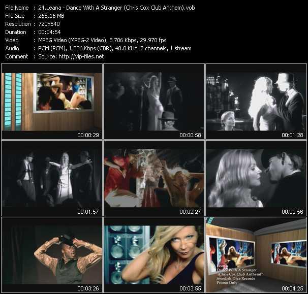 Leana - Dance With A Stranger (Chris Cox Club Anthem)