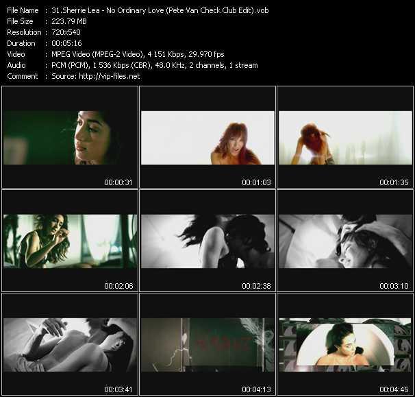 Sherrie Lea - No Ordinary Love (Pete Van Check Club Edit)