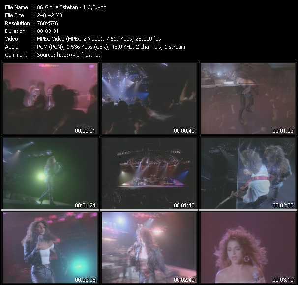 Gloria Estefan - 1-2-3