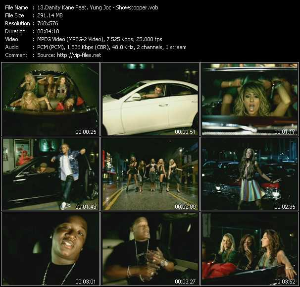 Danity Kane Feat. Yung Joc - Showstopper