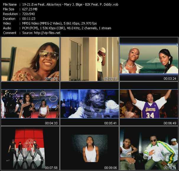 Eve Feat. Alicia Keys - Mary J. Blige - B2K Feat. P. Diddy (Puff Daddy) - Gangsta Lovin' - Family Affair - Bump Bump Bump