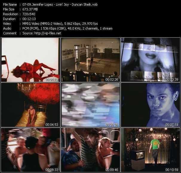 Jennifer Lopez - Livin' Joy - Duncan Sheik - I'm Glad (Paul Oakenfold Remix) - Dreamer (Original Mix Edit) - On A High (Gabriel And Dresden's Love From Humboldt)