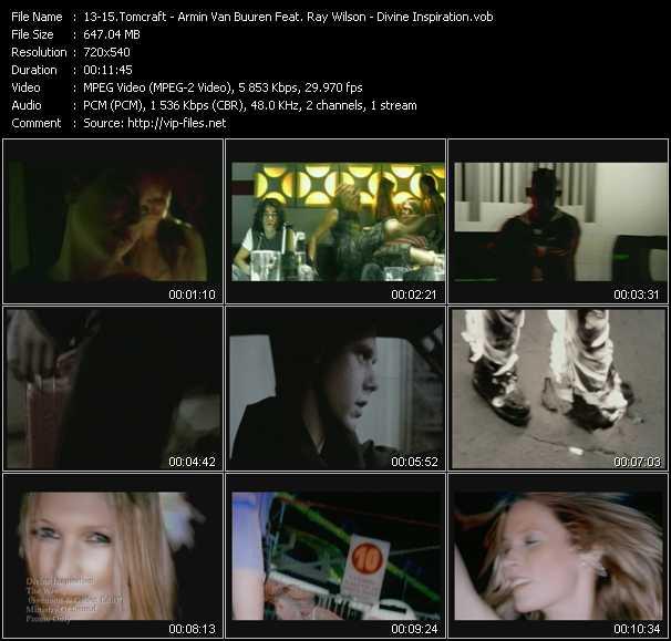 Tomcraft - Armin Van Buuren Feat. Ray Wilson - Divine Inspiration - Loneliness (Klub Edit) - Yet Another Day - The Way (Svenson And Gielen Edit)