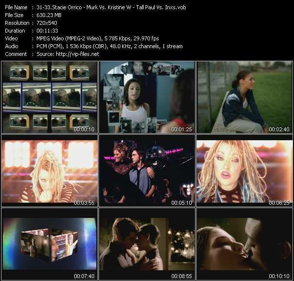 Stacie Orrico - Murk Vs. Kristine W - Tall Paul Vs. Inxs - Stuck (Thunderpuss Club Edit) - Some Lovin' - Precious Heart (Original Club Edit)
