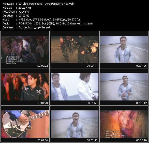 Chris Perez Band - Dime Porque Te Vas