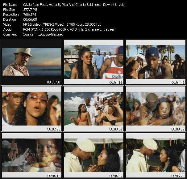 Ja Rule Feat. Ashanti, Charli Chuck Baltimore And Vita - Down 4 U