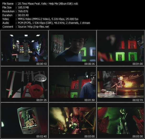 Timo Maas Feat. Kelis - Help Me (Album Edit)