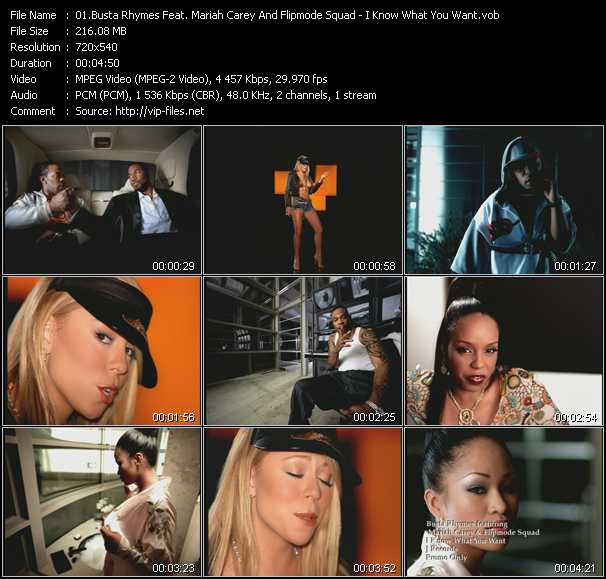 Busta Rhymes Feat. Mariah Carey And Flipmode Squad - I Know What You Want
