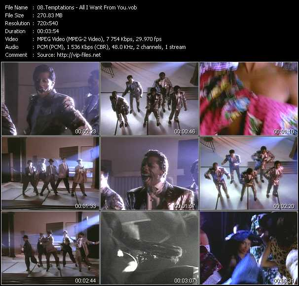 Temptations - All I Want From You