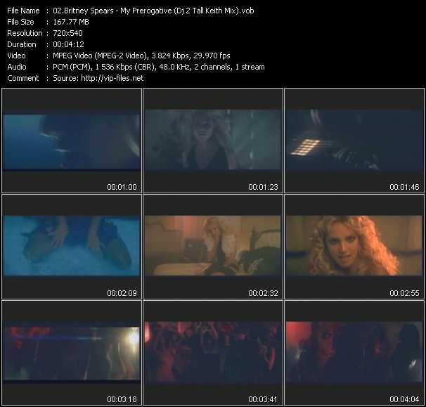 Britney Spears - My Prerogative (Dj 2 Tall Keith Mix)
