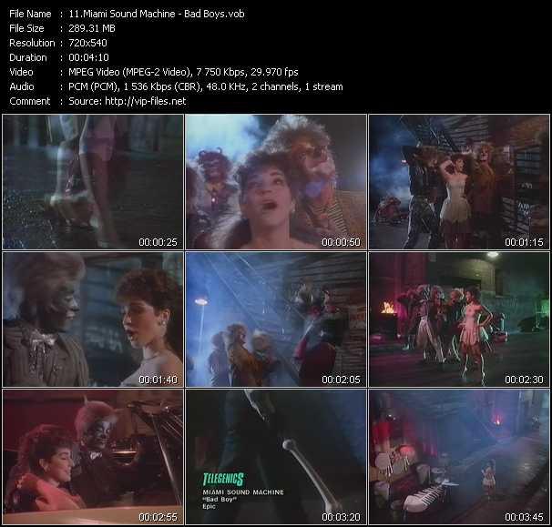 Gloria Estefan And Miami Sound Machine - Bad Boys