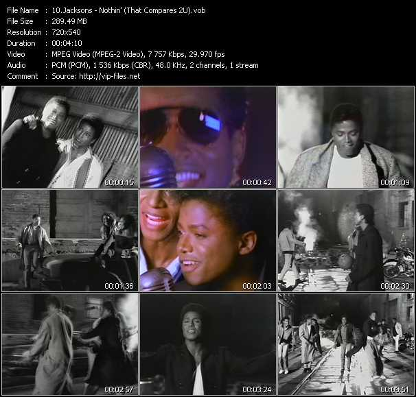 Jacksons - Nothin' (That Compares 2U)