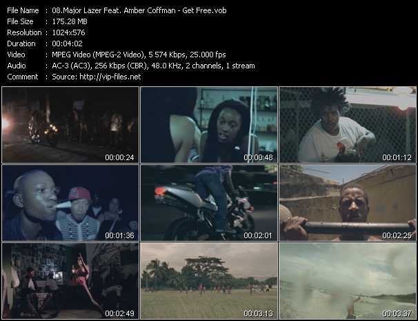 Major Lazer Feat. Amber Coffman - Get Free