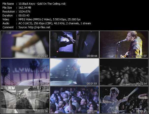 Black Keys - Gold On The Ceiling