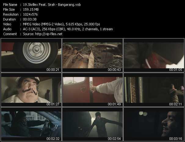 Skrillex Feat. Sirah - Bangarang