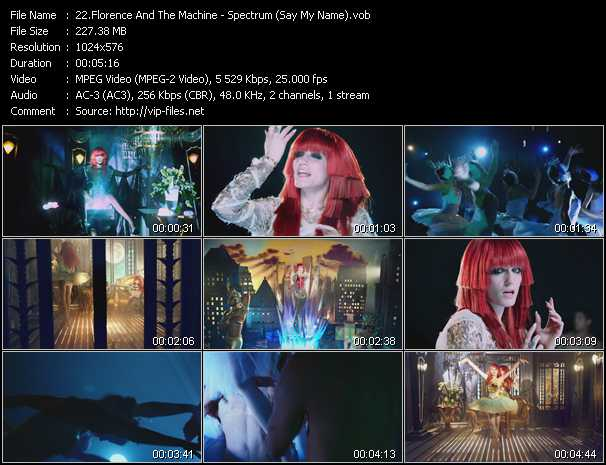 Florence And The Machine - Spectrum (Say My Name)