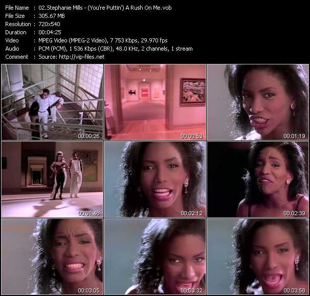 Stephanie Mills - (You're Puttin') A Rush On Me