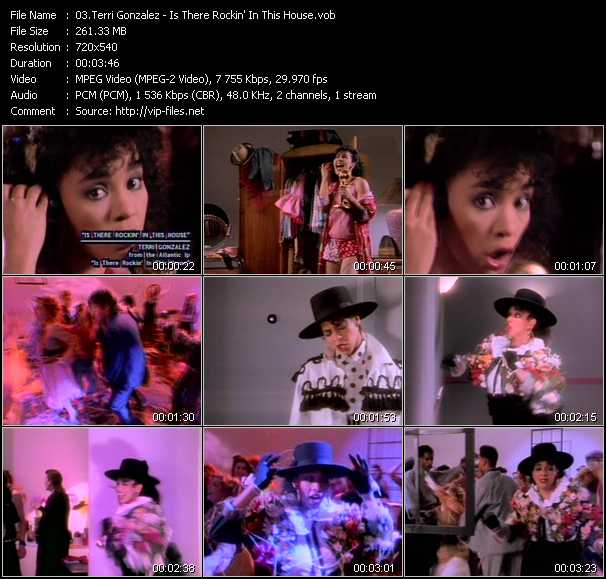 Terri Gonzalez - Is There Rockin' In This House