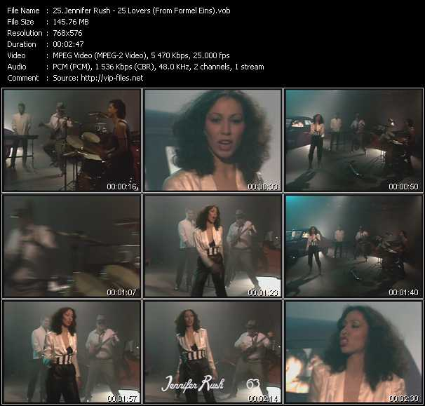 Jennifer Rush - 25 Lovers (From Formel Eins)