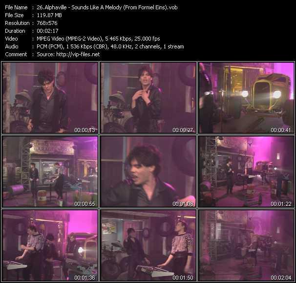 Alphaville - Sounds Like A Melody (From Formel Eins)