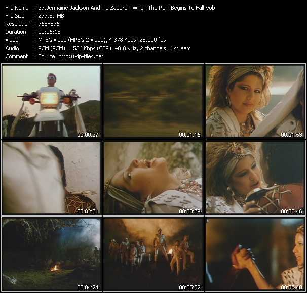 Jermaine Jackson And Pia Zadora - When The Rain Begins To Fall (Extended Version)
