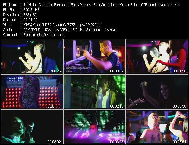 Hallux And Nuno Fernandez Feat. Marcus - Bem Gostosinho (Mulher Solteira) (Extended Version)