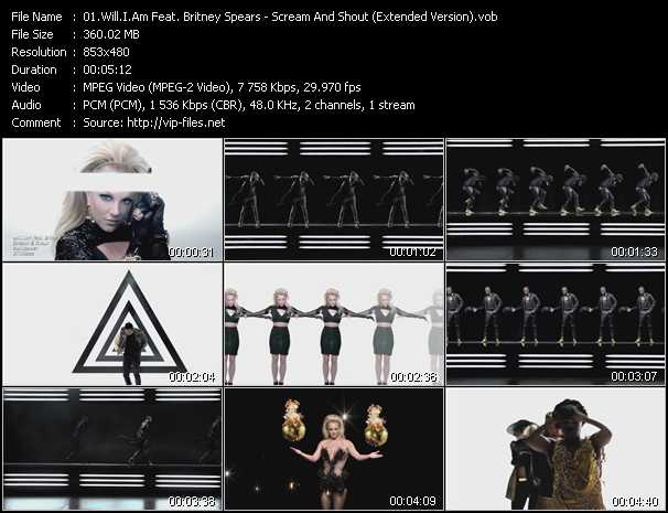 Will.I.Am Feat. Britney Spears - Scream And Shout (Extended Version)