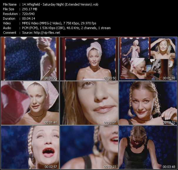 Whigfield - Saturday Night (Extended Version)