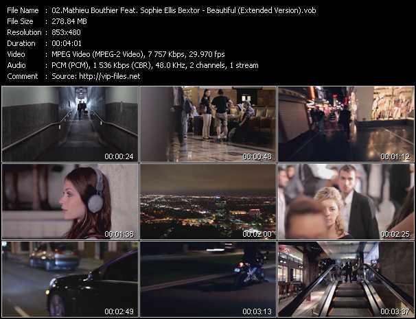Mathieu Bouthier Feat. Sophie Ellis-Bextor - Beautiful (Extended Version)