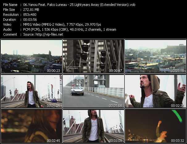 Yanou Feat. Falco Luneau - 25 Lightyears Away (Extended Version)