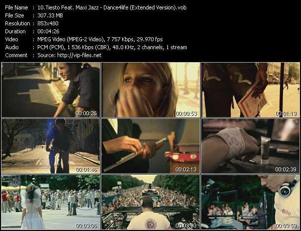 Tiesto Feat. Maxi Jazz - Dance4life (Extended Version)