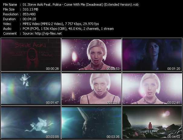 Steve Aoki Feat. Polina (Polina Goudieva) - Come With Me (Deadmeat) (Extended Version)