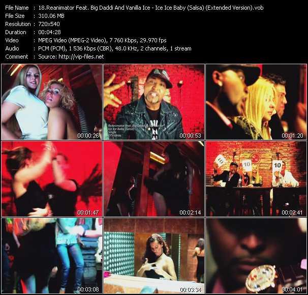 Reanimator Feat. Big Daddi And Vanilla Ice - Ice Ice Baby (Salsa) (Extended Version)