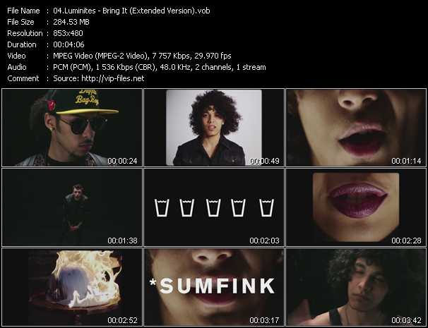 Luminites - Bring It (Extended Version)
