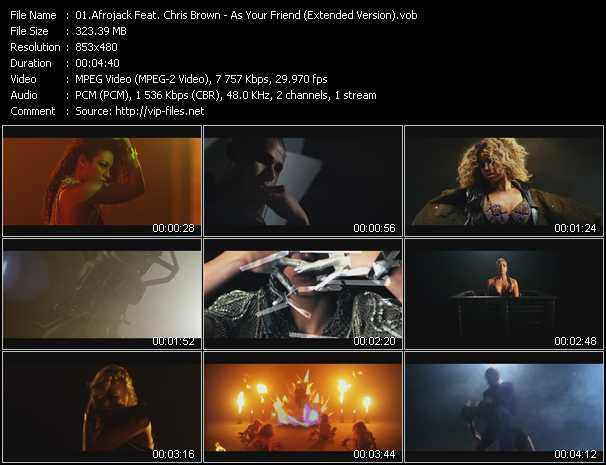 Afrojack Feat. Chris Brown - As Your Friend (Extended Version)