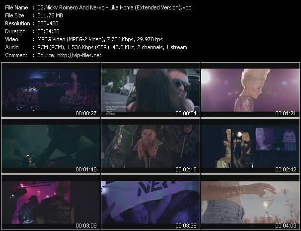 Nicky Romero And Nervo - Like Home (Extended Version)