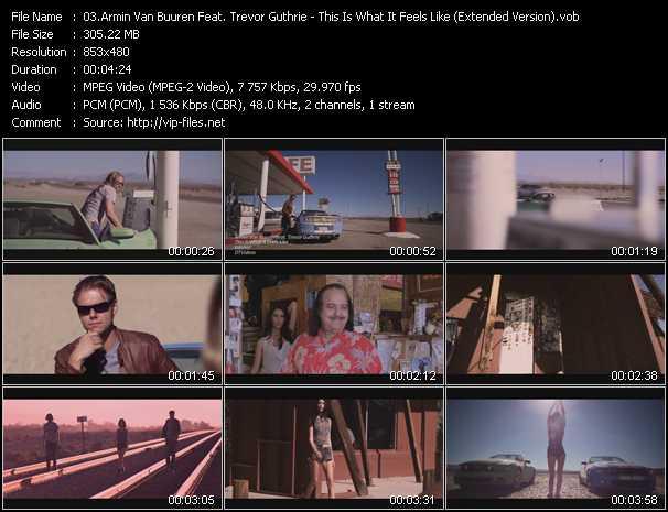 Armin Van Buuren Feat. Trevor Guthrie - This Is What It Feels Like (Extended Version)