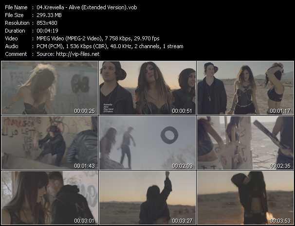 Krewella - Alive (Extended Version)