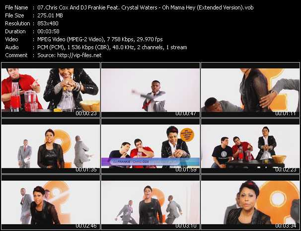 Chris Cox And DJ Frankie Feat. Crystal Waters - Oh Mama Hey (Extended Version)