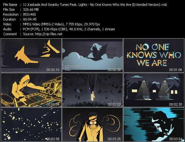 Kaskade And Swanky Tunes Feat. Lights - No One Knows Who We Are (Extended Version)