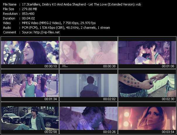 Starkillers, Dmitry KO And Amba Shepherd - Let The Love (Extended Version)