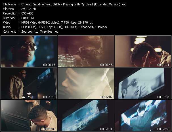 Alex Gaudino Feat. JRDN - Playing With My Heart (Extended Version)